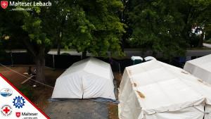 Flüchtlingshilfe 2015 - Zelte