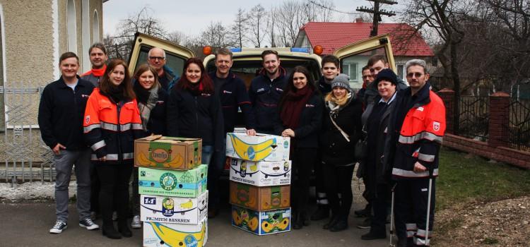 Die Malteser Lebach und Saarlouis sammeln wieder für die Ukraine