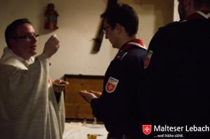so dass wir würdig die heilige Messe feiern konnten.