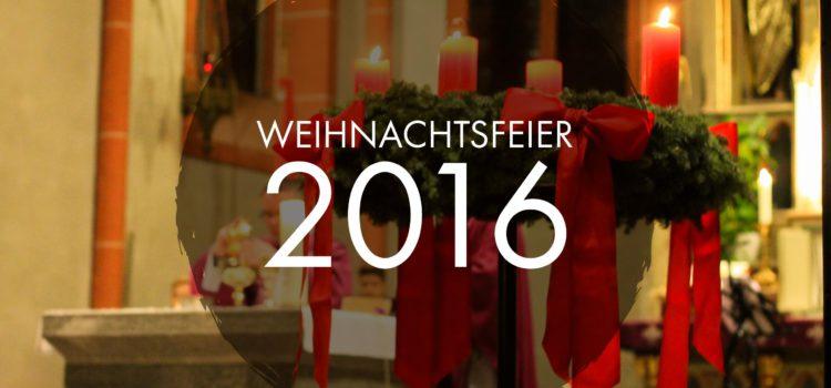 Weihnachtsfeier der Malteser Lebach 2016